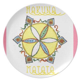 Star in the Making Hakuna Matata Plate