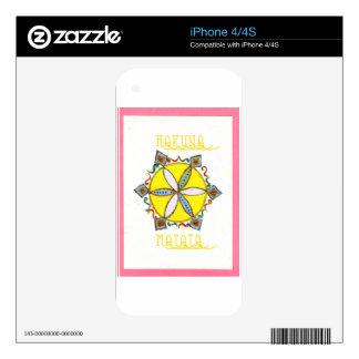 Star in the Making Hakuna Matata Skin For The iPhone 4