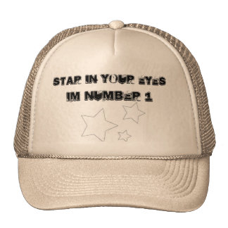 star in your eyes - Customized Hat