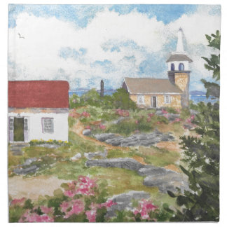 Star Island = Isle of Shoals Placemat Cloth Napkin