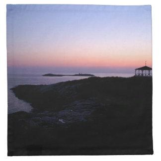 Star Island Sunset Napkin