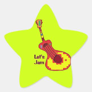 star Jammer sticker