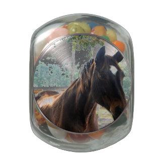 Star Jelly Belly Candy Jar