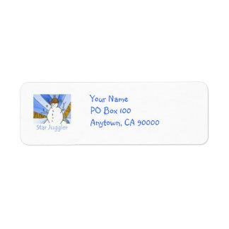 Star Juggler Address Labels