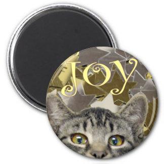 star kitten 2 inch round magnet