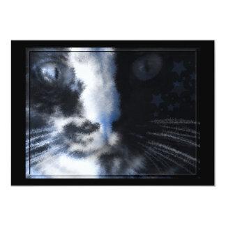 Star Kitty Customizable Invitation