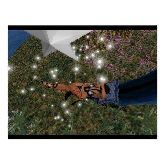 Star light Good Night Postcard