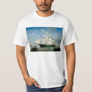 Star Light in Boston Harbor T Shirt