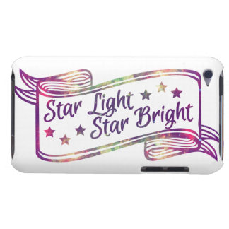 Star Light Star Bright Barely There iPod Cases