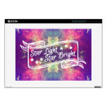 """Star Light Star Bright Decals For 15"""" Laptops"""