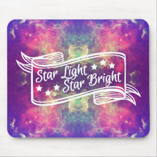 Star Light Star Bright Mouse Pad