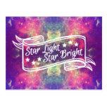 Star Light Star Bright Post Card
