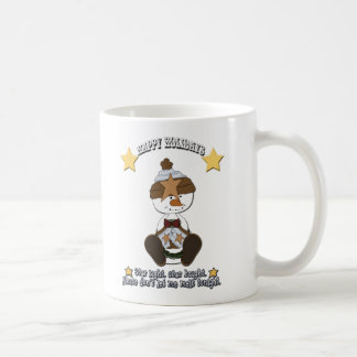 Star Light Star Bright Snowman Holiday Cup