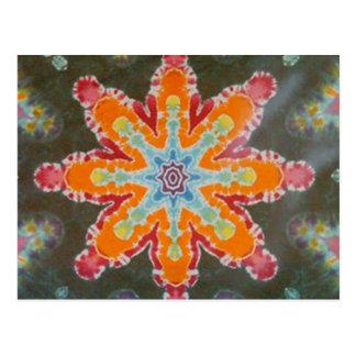 Star Light Tie Dye PhatDyes Postcard