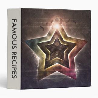 Star Lights 3 Ring Binder