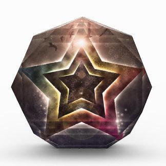 Star Lights Acrylic Award