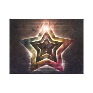 Star Lights Canvas Print