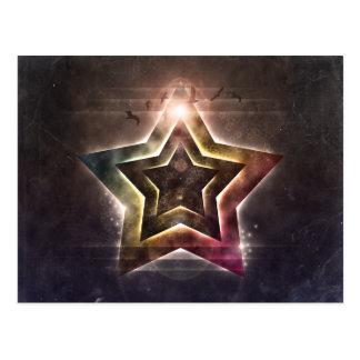 Star Lights Postcard