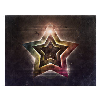 Star Lights Poster