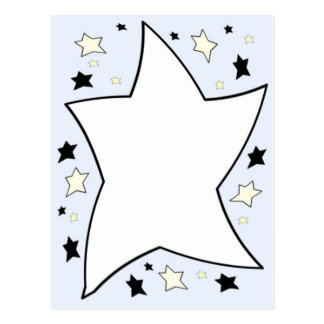 star lilac post cards