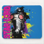 Star-Lord Paint Splatter Graphic Mouse Pad