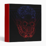 Star-Lord Retro Outline 3 Ring Binders