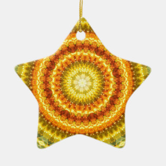 Star Lotus Ceramic Ornament