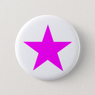 Star Magenta The MUSEUM Zazzle Gifts Button