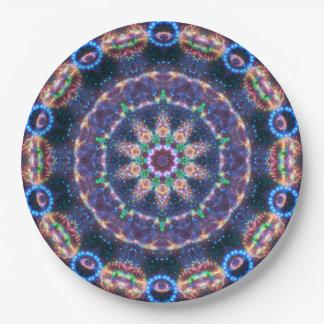 Star Magic Mandala Paper Plate