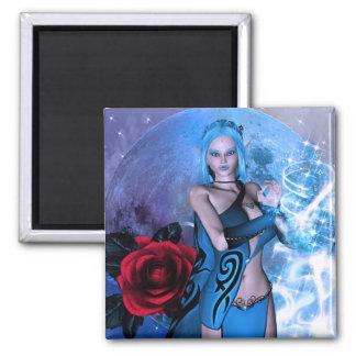Star Maker Elven Fantasy 2 Inch Square Magnet