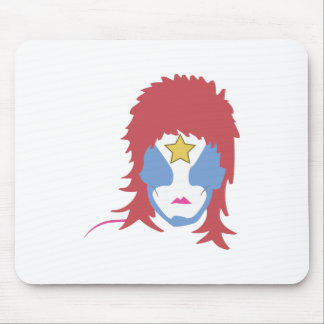 Star Man Mouse Pad