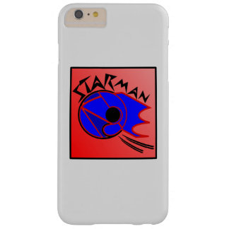 Star-man text with image red, black & blue phone c barely there iPhone 6 plus case