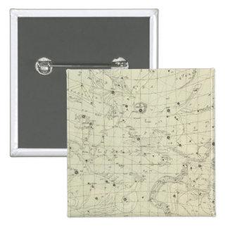 Star map 2 pinback button