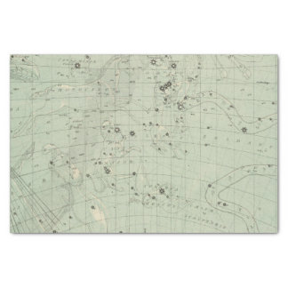 "Star map 2 10"" x 15"" tissue paper"