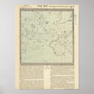 Star map 2 print