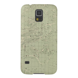 Star map galaxy s5 cover