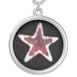Star Material Necklace
