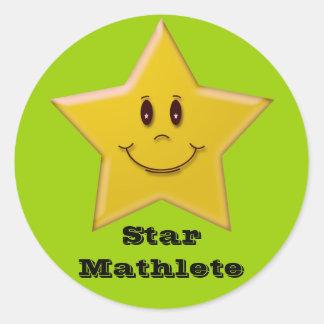 Star Mathlete Sticker
