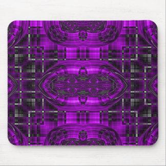 Star Maze Futuristic Fractal Mouse Pad