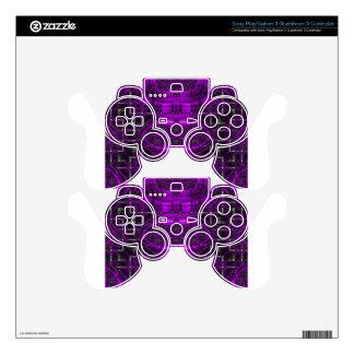 Star Maze Futuristic Fractal Skin For PS3 Controller