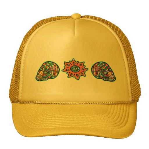 Star Men Skulls October Colors Hats