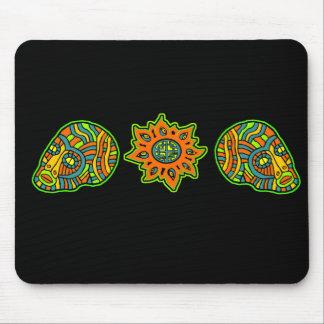 Star Men Skulls October Colors Mousepads