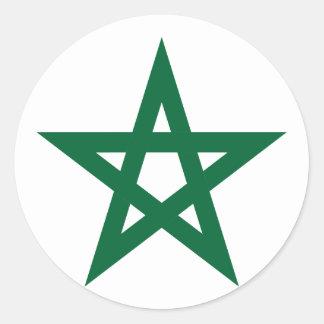 Star Morocco, Morocco Classic Round Sticker