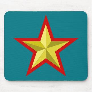 STAR MOTIF MOUSE PAD