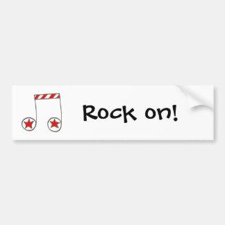 Star Musical Note Bumper Stickers