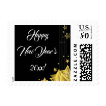 Star New Year's Eve Party   Stamp