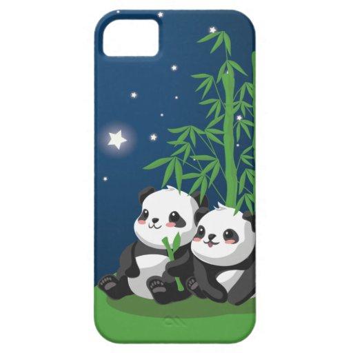 Star Night Panda iPhone 5 Cases