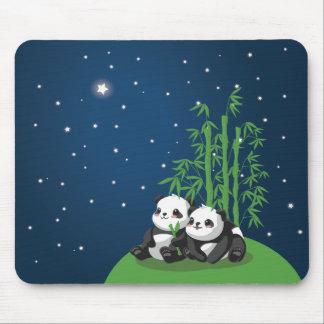 Star Night Panda Mouse Pad