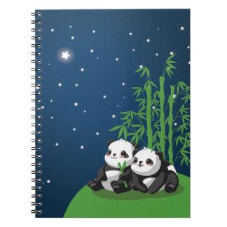 Star Night Panda Note Book