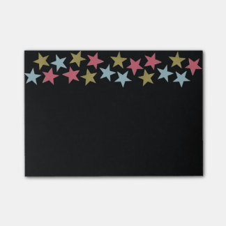 Star Notes on Black Post-it® Notes